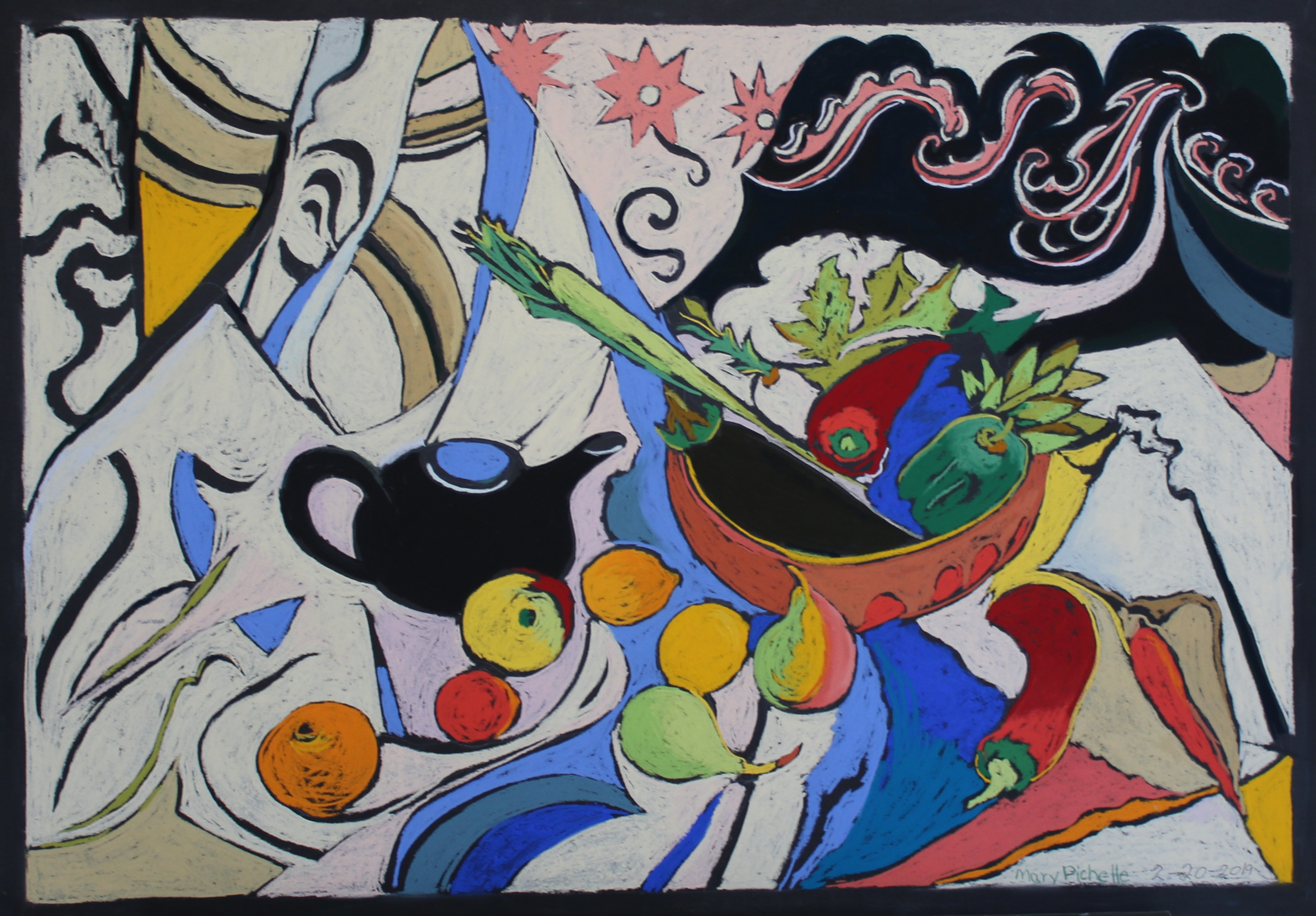 Curves, Color and Teapot 21 Feb 2019